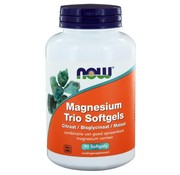 NOW Foods Magnesium Trio 90 softgels