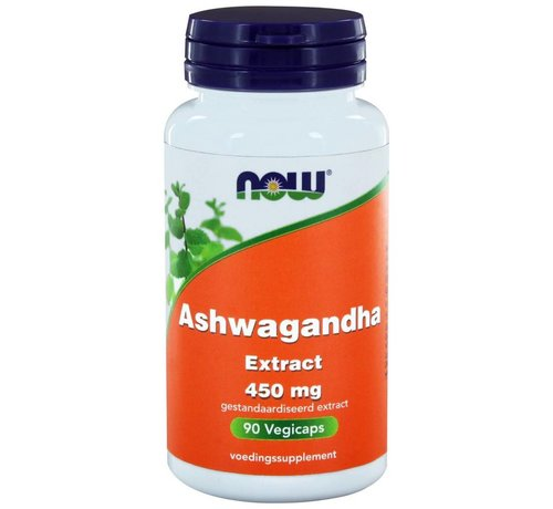 NOW Foods Ashwagandha Extract 450 mg 90 vegicaps