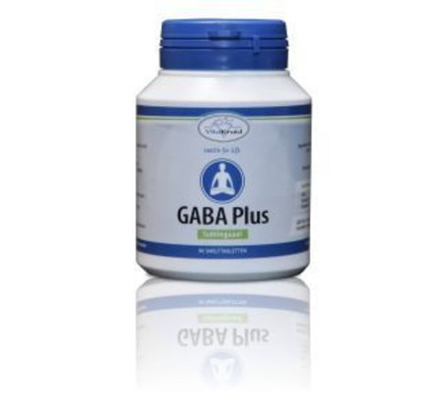 Vitakruid Gaba plus sublinguaal 90 smelttabletten