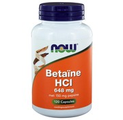 NOW Foods Betaïne HCl 648 mg