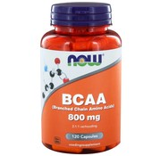 NOW Foods BCAA 800 mg (Branched Chain Amino Acids) 120 caps
