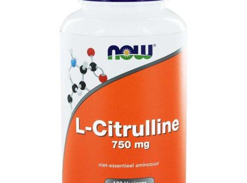 NOW Foods L-Citrulline 750 mg