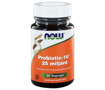 NOW Foods Probiotic-10™ 25 miljard