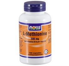 L-Methionine 500 mg 100 caps