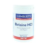 Lamberts Betaine HCL pepsine