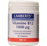 Lamberts Vitamine B12 1000 mcg