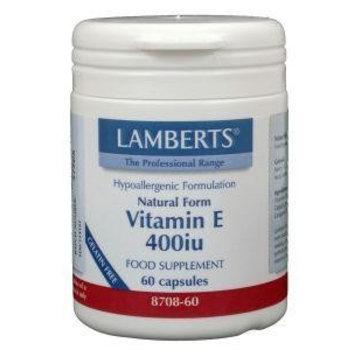 Lamberts Vitamine E 400IE natuurlijk