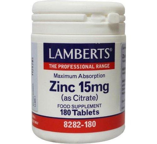 Lamberts Zink (zinc) citraat 15 mg