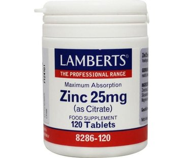 Lamberts Zink (zink) citraat 25 mg
