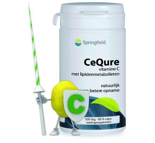 Springfield Cequre 500 mg vitamine C 60vc 60vc