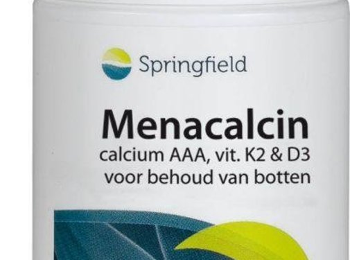 Springfield Menacalcin vitamine K2 60tb