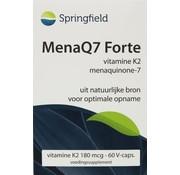 Springfield MenaQ7 Forte vitamine K2 180 mcg 60vc