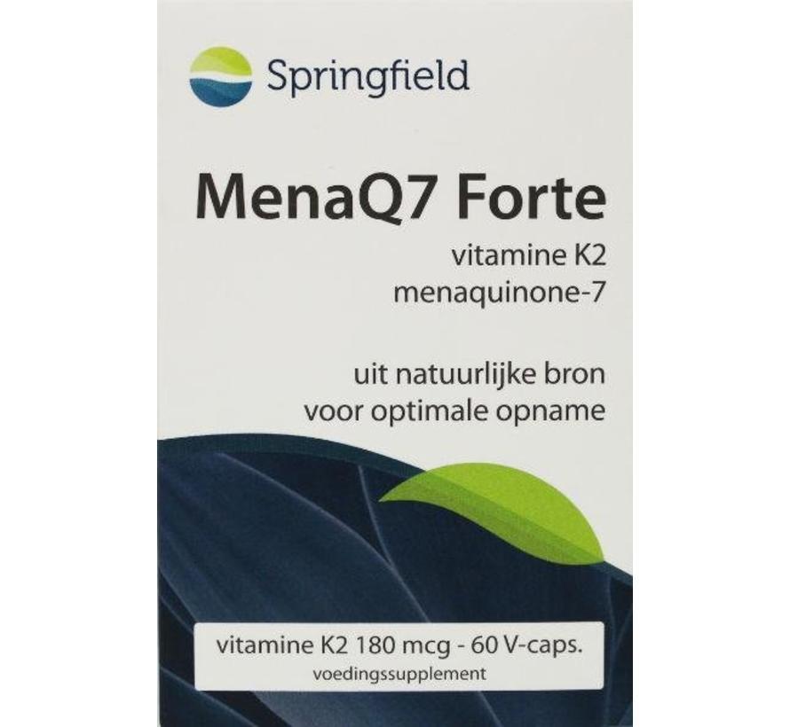 MenaQ7 Forte vitamine K2 180 mcg 60vc 60vc