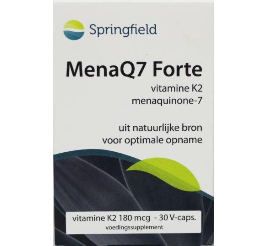 MenaQ7 Forte vitamine K2 180 mcg 30vc 30vc