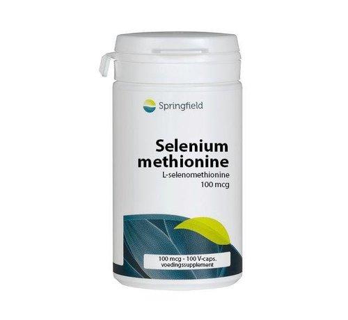 Springfield Selenium methionine 100 100cap 100cap