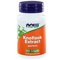 Knoflook Extract Geurloos 100 softgels