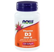 NOW Foods Vitamine D3 2000 IE