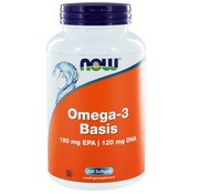 NOW Foods Omega-3 Basis 180 mg EPA 120 mg DHA