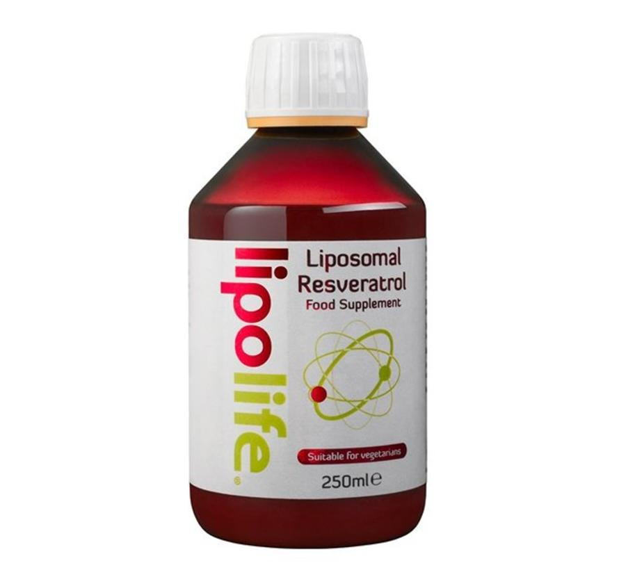 Liposomaal Resveratrol met zonnebloem lecithine, 250ml Vloeistof / druppels