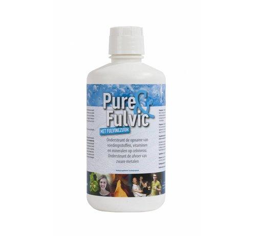 Health Solutions Pure&Fulvic 1L  Fulvosäuren