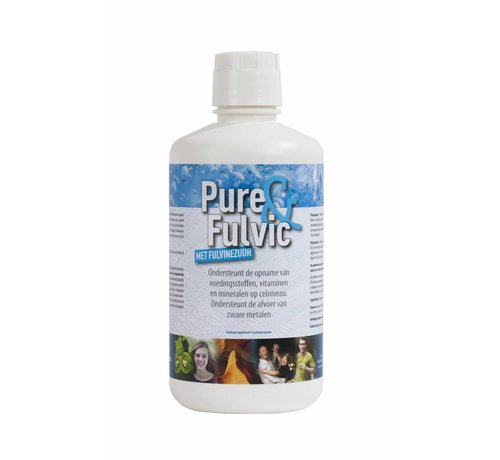 Health Solutions Pure&Fulvic 1L pure fulvic acid