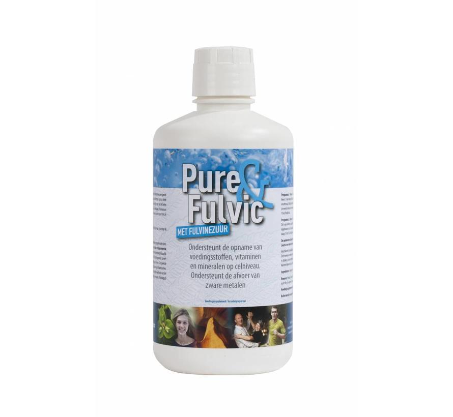 Pure&Fulvic 1L  Fulvosäuren