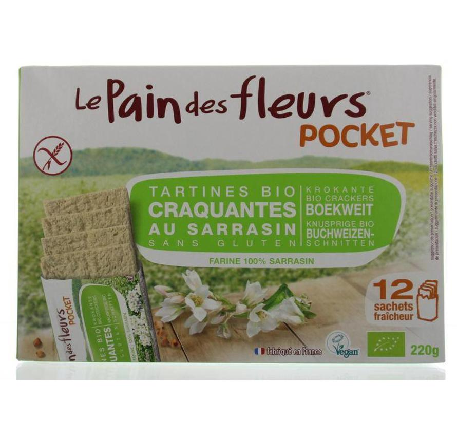 Boekweit cracker pocket