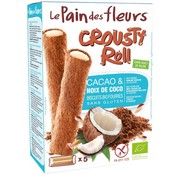 Pain Des Fleurs Krokante roll kokos