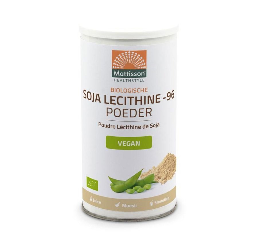 Soja lecithine poeder bio