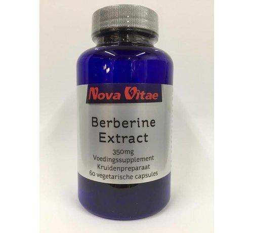 Nova Vitae Berberine HCI extract 350 mg