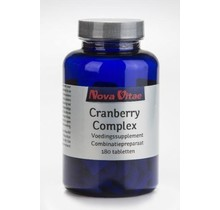 Cranberry D-mannose complex