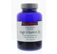 High vitamine D3 3000IU 75 mcg