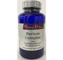 Borium complex 3 mg