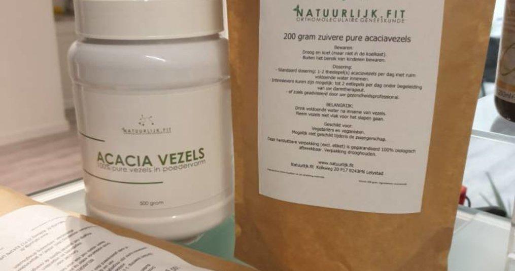 Acaciavezels nu milieuvriendelijker verpakt!