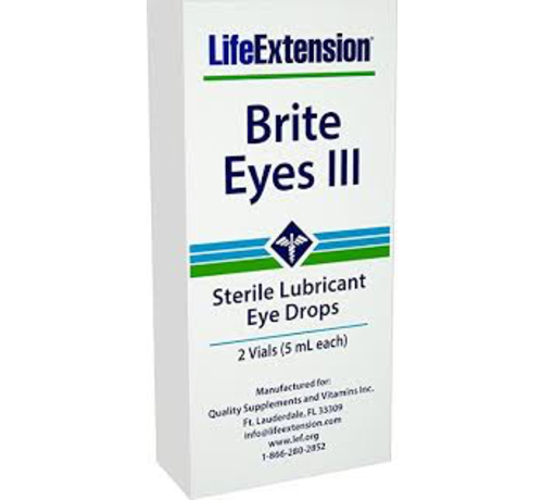 Life Extension Brite Eyes III 2x 5ml