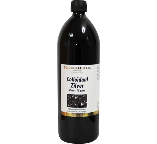 Golden Naturals Colloidaal zilver 1000ml
