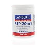 Lamberts P5P 20 mg Vitamine B6