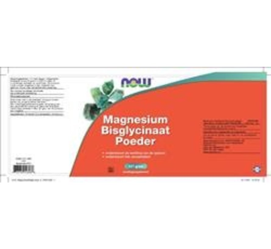 Magnesium bisglycinaat Poeder  227 gram