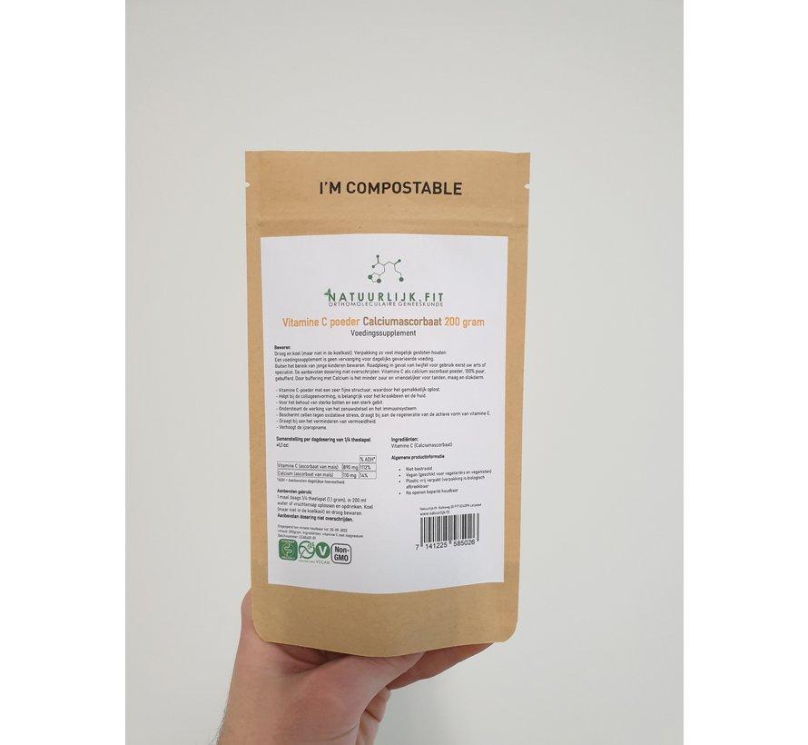 Vitamine C poeder calciumascorbaat 200g