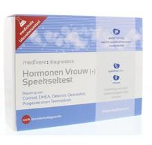 Hormonen vrouw plus speekseltest