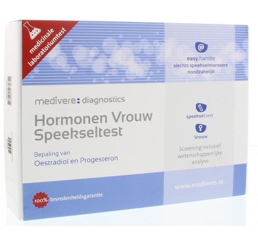 Hormonen vrouw speekseltest