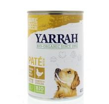 Hond pate met kip 400g