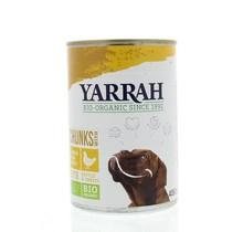 Hond brokjes kip in saus 405 gram