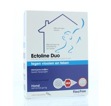 Ectoline duo hond 20-40 kg pipet 2st