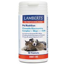 Glucosamine kauwtabletten voor hond en kat 90 tabletten