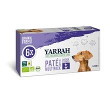 Hondenvoer multipack pate kip en kalkoen 6x150g