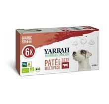 Hondenvoer multipack pate kip en rund 6x150g