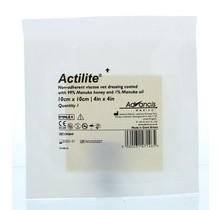 Actilite manuka non adhesive 10 x 10 1st