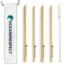 Oceansrespect 4 rietjes van bamboe - plastic vrij