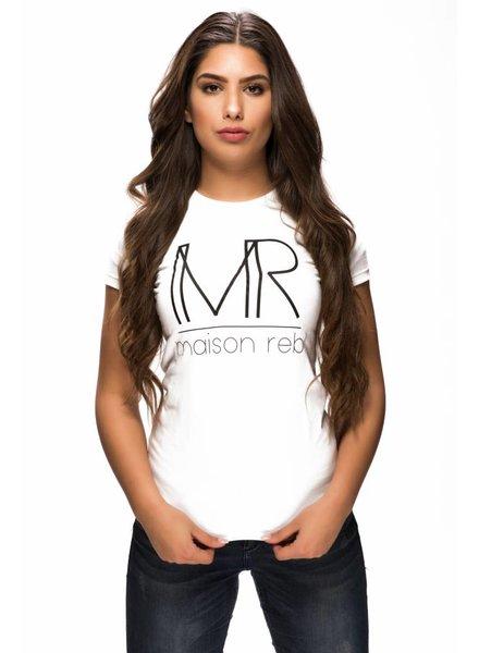 Maison Rebl Brand T-Shirt - White